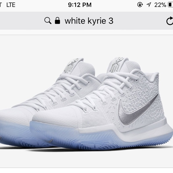 Nike Shoes | White Kyrie 3s | Poshmark